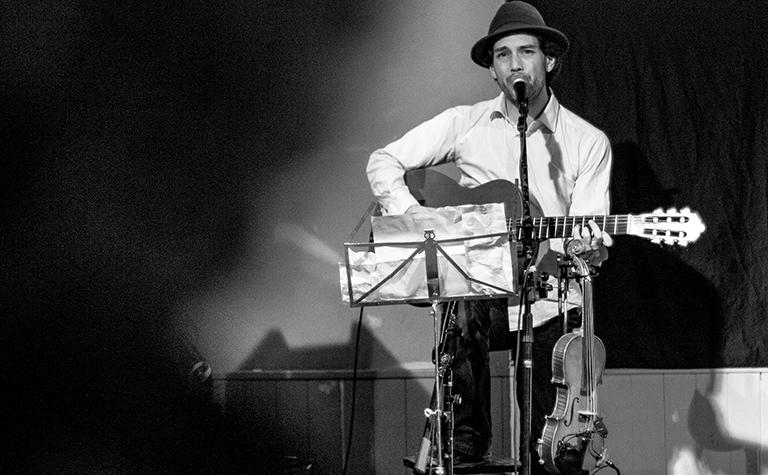 Simon Bouin musicien à Poitiers